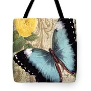 Butterfly Kisses-a Tote Bag