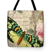 Butterfly Kisses-b Tote Bag