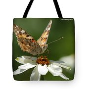 Butterfly Macro Photography Tote Bag