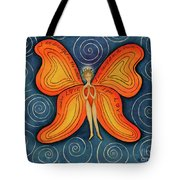 Butterfly Mantra Tote Bag