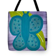 Butterfly Tote Bag by Melissa Dawn