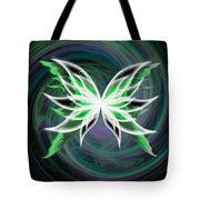 butterfly Motion Tote Bag