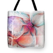 Butterfly Note Tote Bag