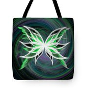 Butterfly Oil Painting Tote Bag