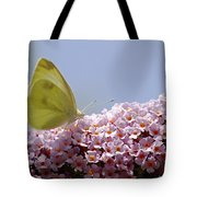 Butterfly On Buddleia Tote Bag