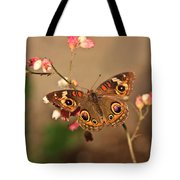Butterfly On Pink Tote Bag