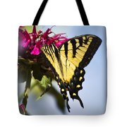 Butterfly Out Of The Blue - Blue Butterfly Art Tote Bag
