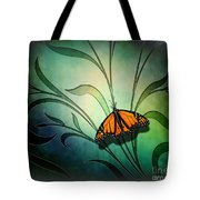 Butterfly Pause V1 Tote Bag