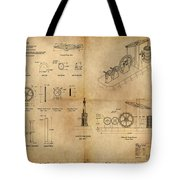 Butterfly Pump Tote Bag by James Christopher Hill