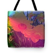 Butterfly Rainbow Tote Bag