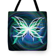 Butterfly Swirl Tote Bag