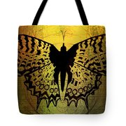 Butterfly Symmetry 2 Tote Bag
