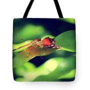 Butterfly Taking The High Ground Tote Bag