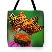 Butterfly Twins Tote Bag