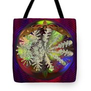 Butterfly Water Globe   Tote Bag