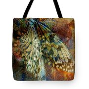 Butterfly Wings Tote Bag