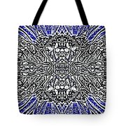 Butterfly Wings Art Nouveau  Double Mirror Image Compressed  Tote Bag