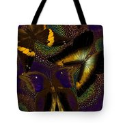 Butterfly Worlds Tote Bag