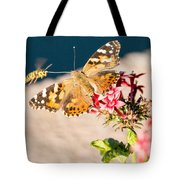 Butterfly's Friend Tote Bag