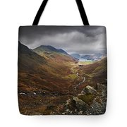 Buttermere Valley Autumn View Tote Bag