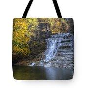Buttermilk Falls Autumn Tote Bag