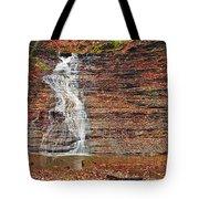 Buttermilk Waterfall Tote Bag by Marcia Colelli
