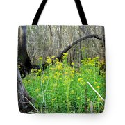Butterweed Florida Wildflower Tote Bag