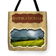 Button - Inspirational Tote Bag