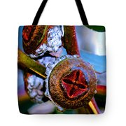 Pacific Northwest Washington Button Seed Pod Tote Bag