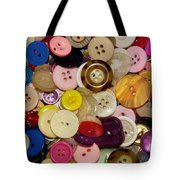 Buttons 667 Tote Bag