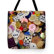 Buttons 674 Tote Bag