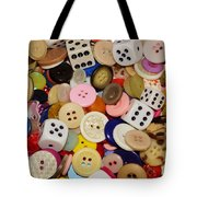 Buttons 676 Tote Bag