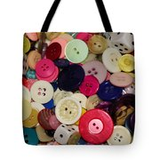 Buttons 680 Tote Bag
