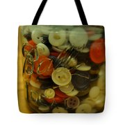 Buttons And Ball Tote Bag