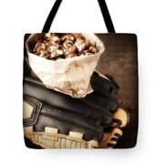 Buy Me Some Peanuts And Cracker Jack Tote Bag by Edward Fielding