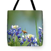 Buzzing The Bluebonnets 02 Tote Bag