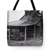 bw Antique Barn Tote Bag