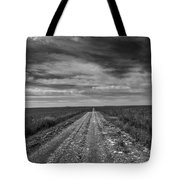 Bxw Gravel Vanishing Point Tote Bag