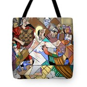 By My Wounds You Were Healed Tote Bag