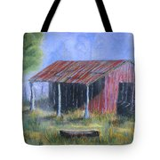 By The Barn Out Back Tote Bag