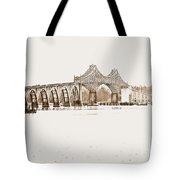 By The Bridge Tote Bag