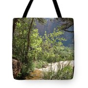 By The Emerald Pools - Zion Np Tote Bag