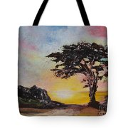 By The Golden Sea Tote Bag