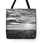 By The Light Of God Tote Bag