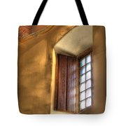 By The Light Of The Window Tote Bag