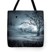 By The Moonlight Tote Bag by Lourry Legarde