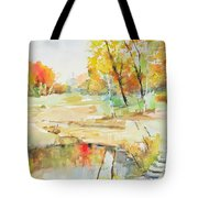 By The Pond Tote Bag