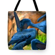 By The Throat Tote Bag