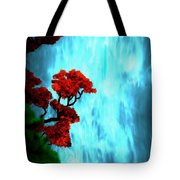 By The Waterfalls Tote Bag
