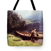 By The Waters Edge Tote Bag